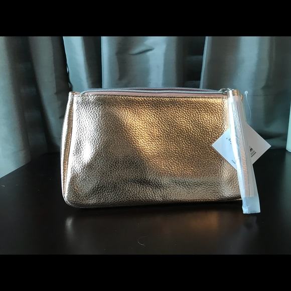 d87568b4a1 Nordstrom Bags | Rose Gold Metallic Cosmetic Pouch | Poshmark